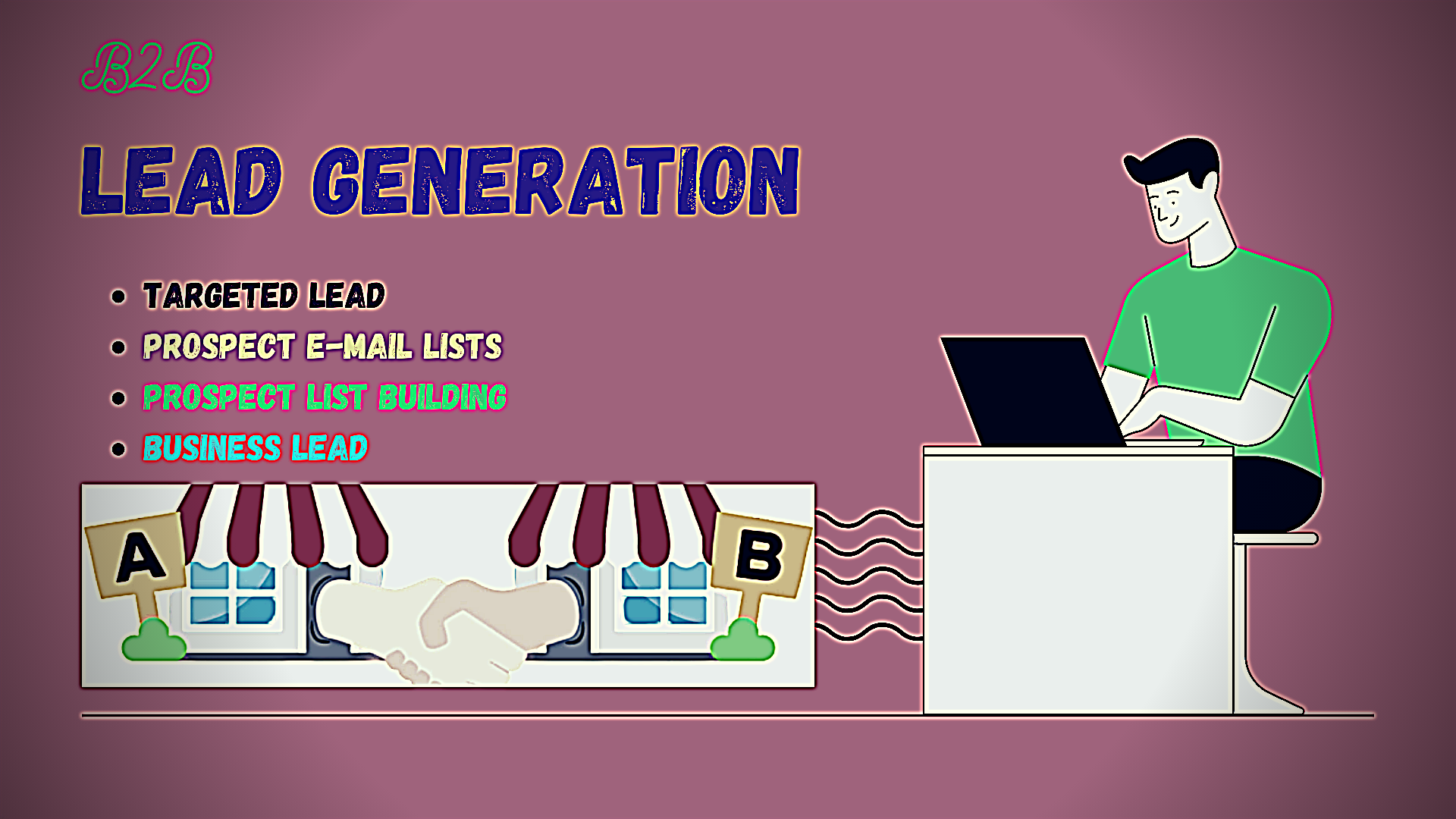 I will create 500 b2b lead generation and prospect email list building