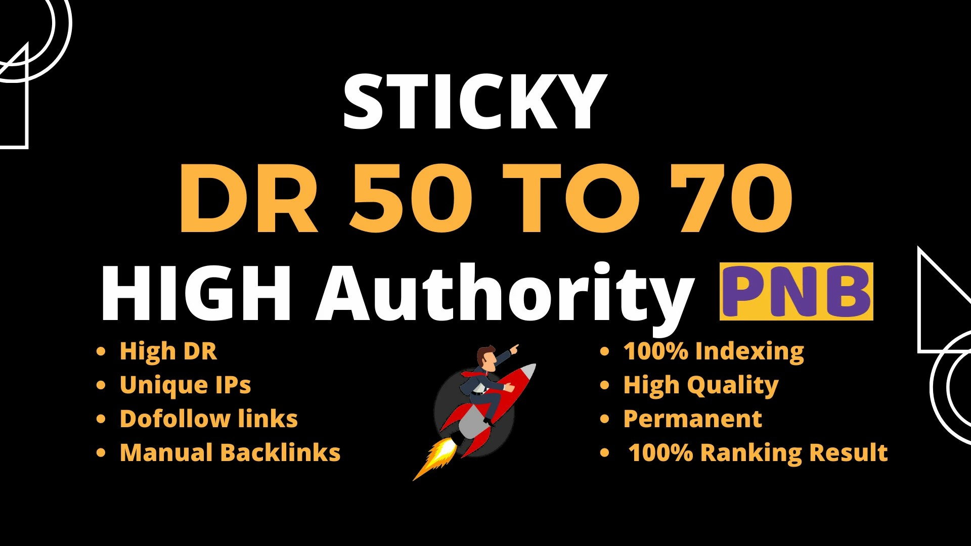 Create 150 High Quality HomePage DR 50 to 70 Dofollow Backlinks SEO Service