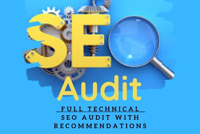 I do SEO audit to uncover problems on your site & report you