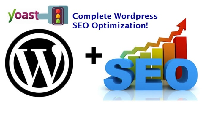 I will do full on page SEO and technical onpage optimization of wordpress site with yoast