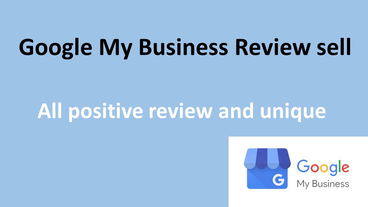i will provide 50 positive google my business reviews