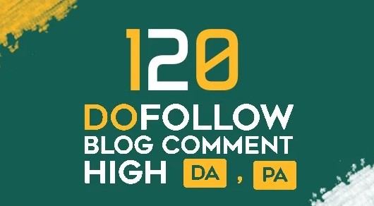 I will do 120 prime quality dofollow blog comments