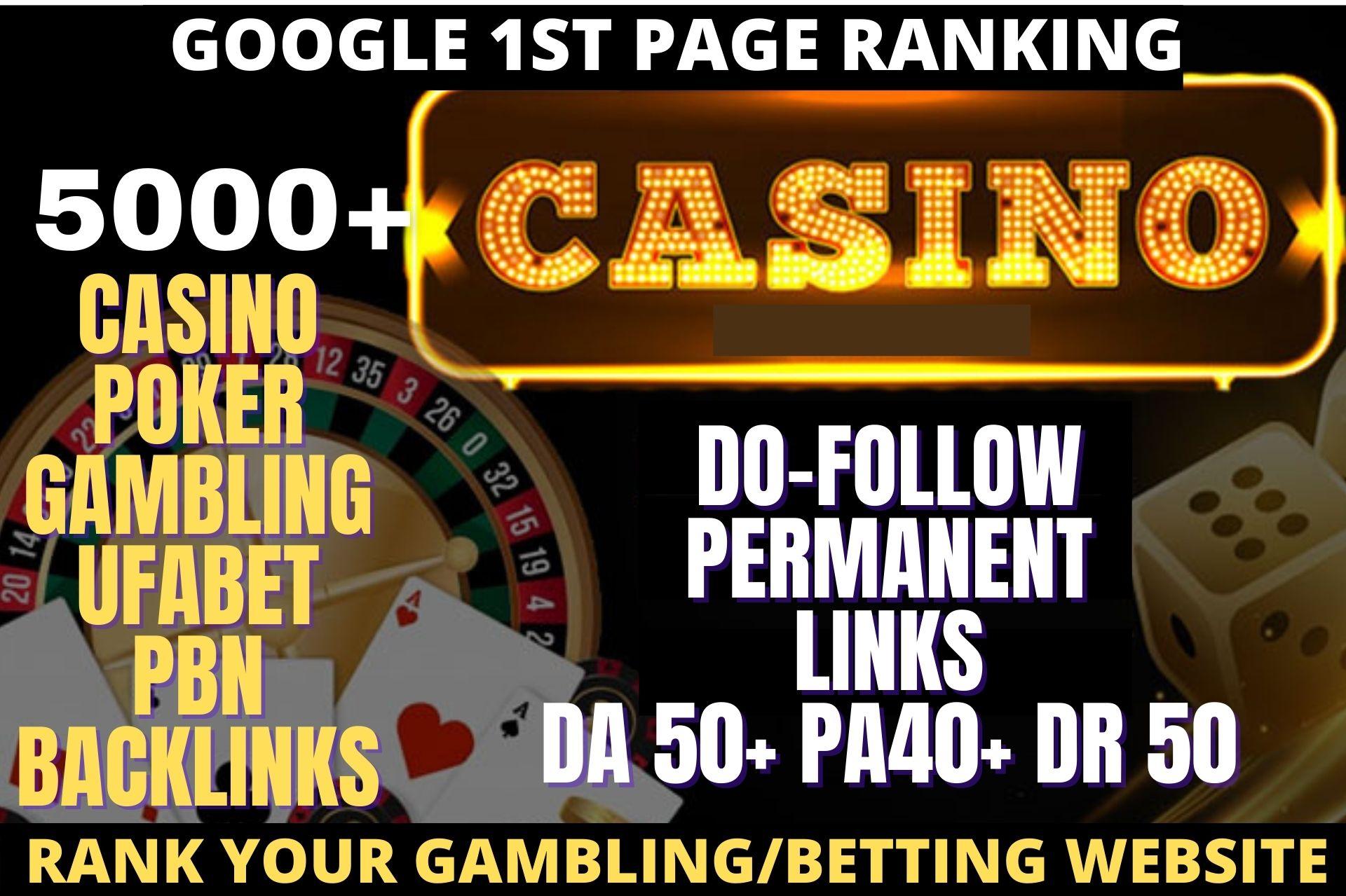 Permanent 5000+ pbn casino/ poker/gambling /sports/JUDI Related high quality links unique site pbn