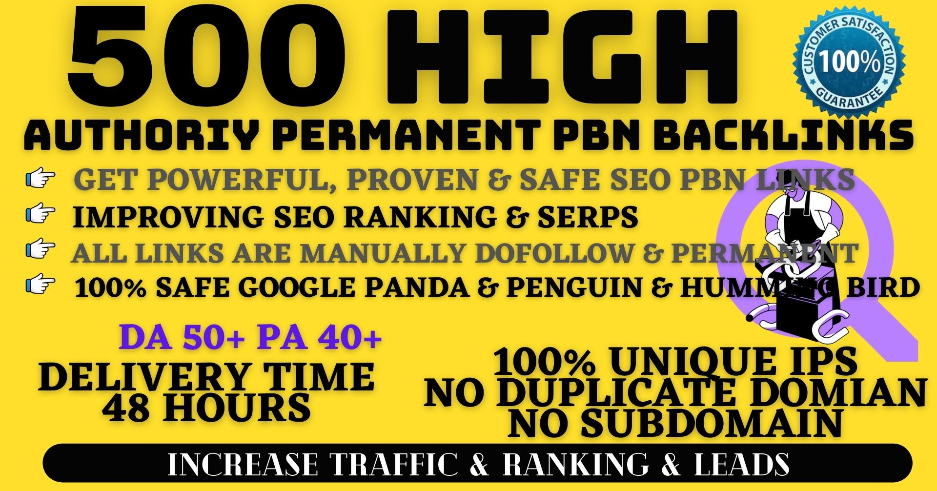 500+ Permanent PBN Backlinks Web2.0 With High DA50+PA40+PR6+ Links Homepage Unique website