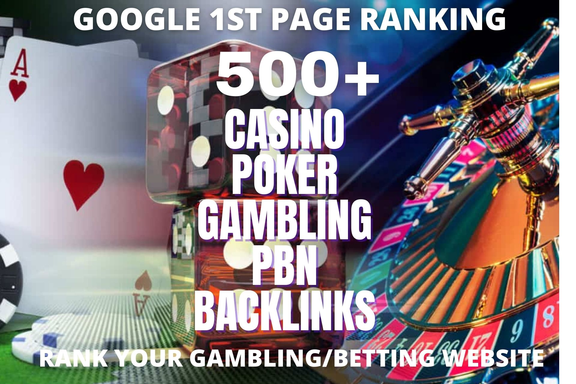 Unique 500 poker/casino/gambeling JUDI Related Sites DA 40+ PA 40+ PR 10 TO 6 Web 2.0 500 PBN