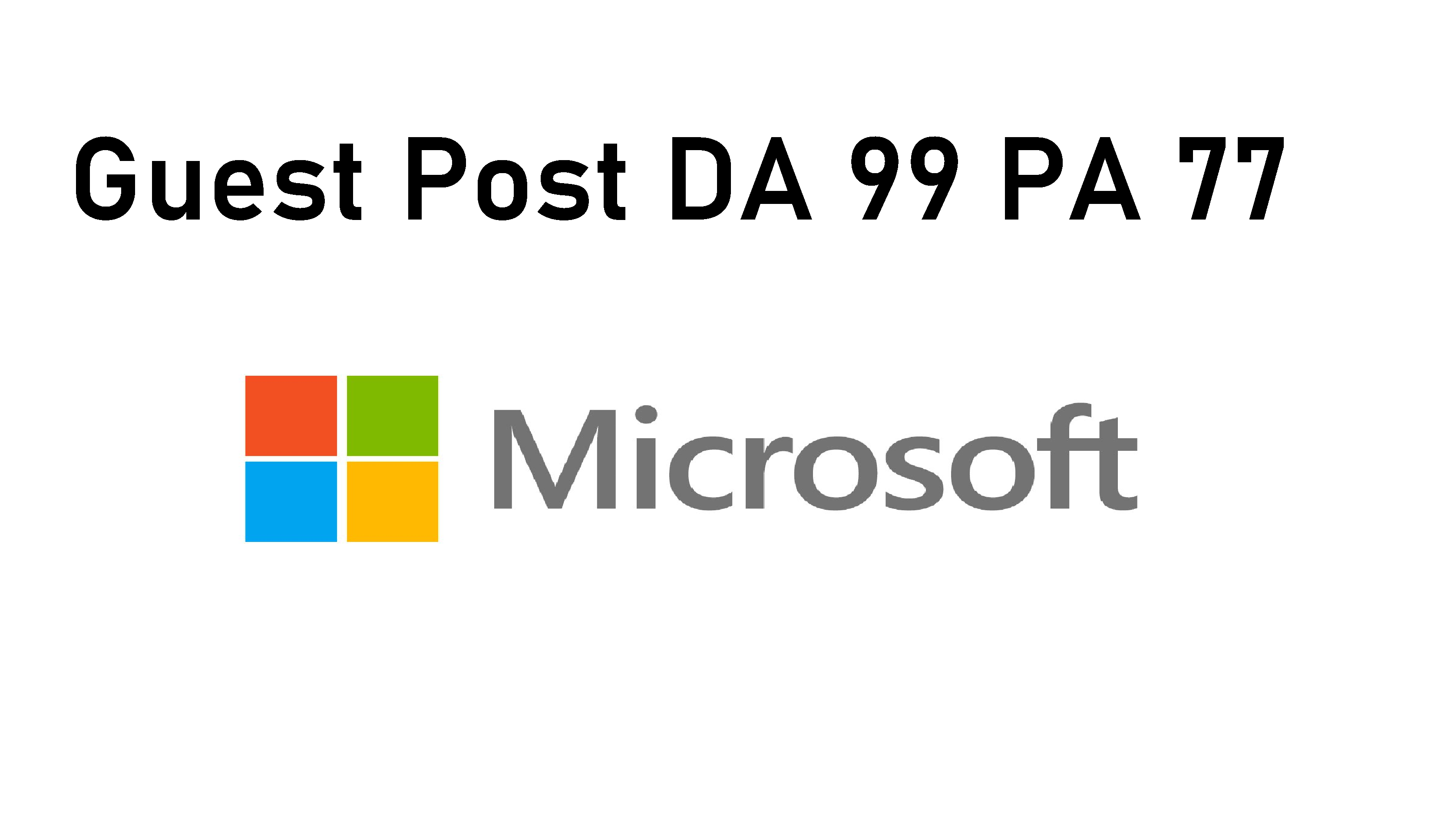 I Will Publish Guest Post on Trainingsupport. Microsoft High Authority Sites