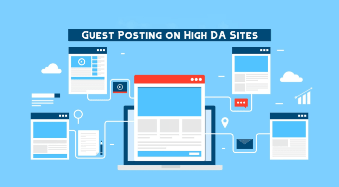 I Will Publish 5 Guest Post on High Authority DA Sites
