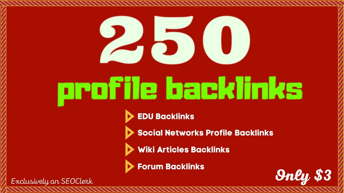 250 SEO backlinks white hat manual link building service for google top ranking