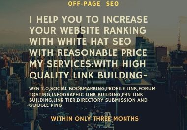I will help you with white hat seo