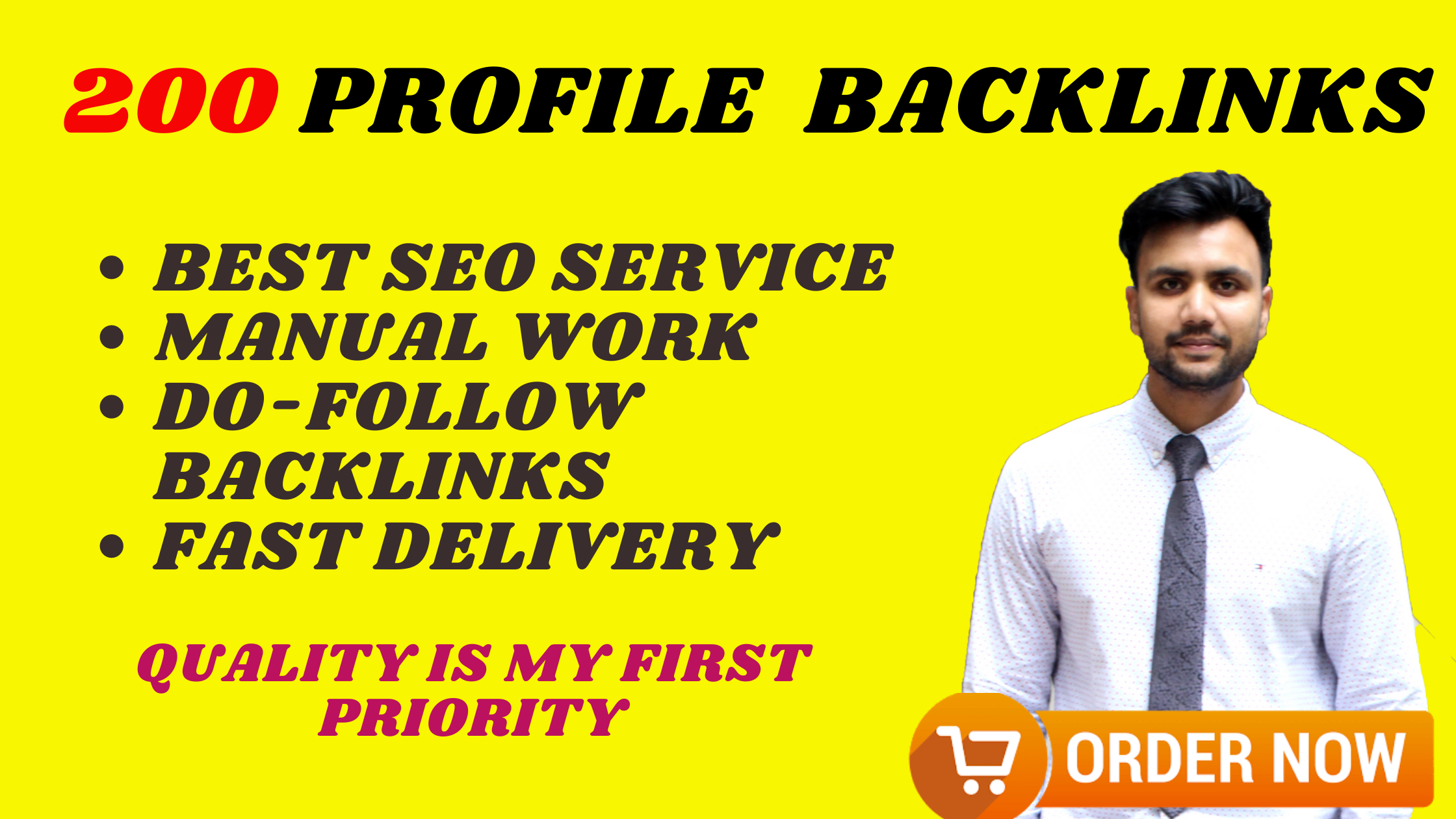 I Will Do Manually 200 Unique Profile Backlinks