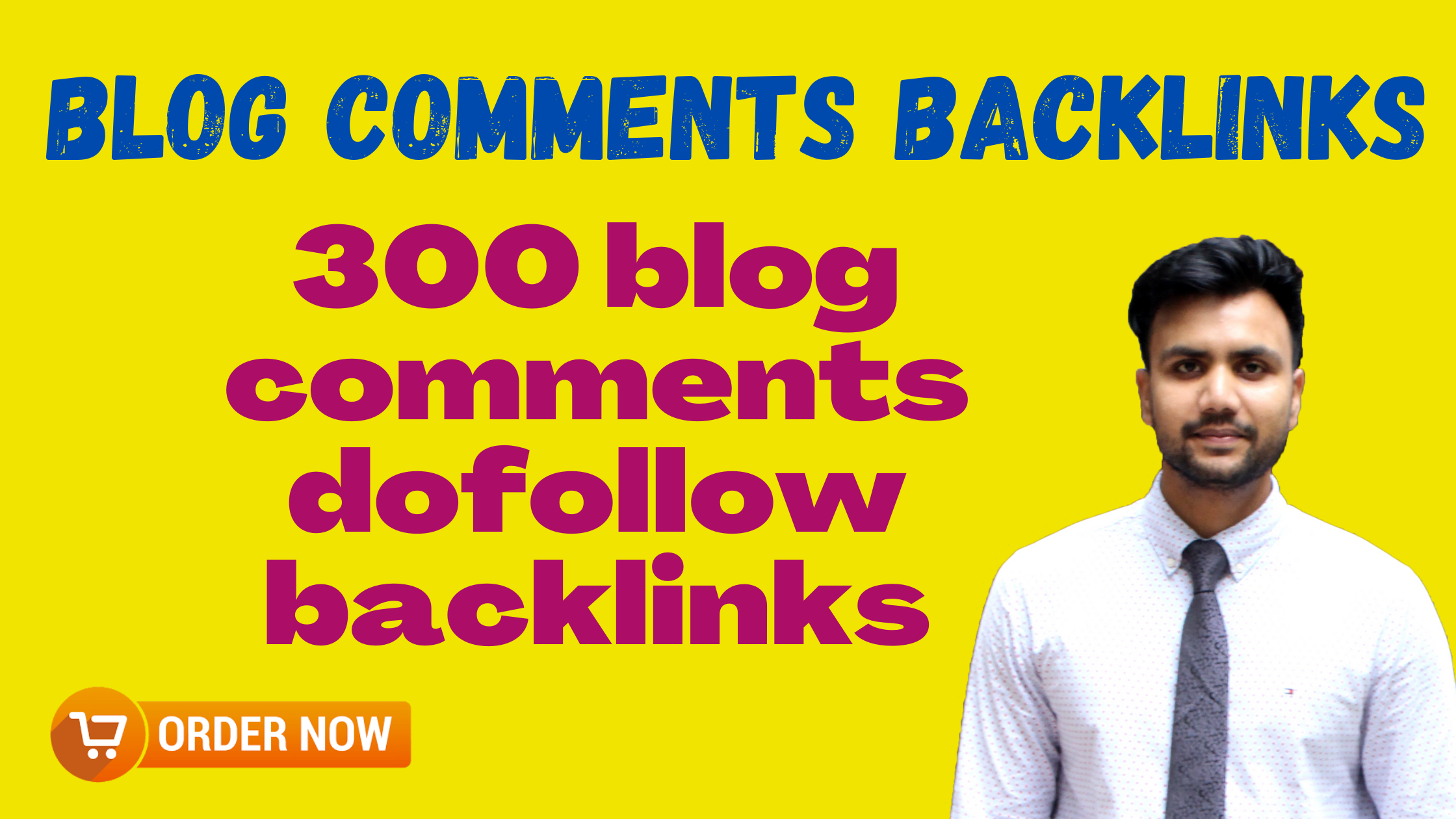 I will make 300 high quality blog comments dofollow backlinks