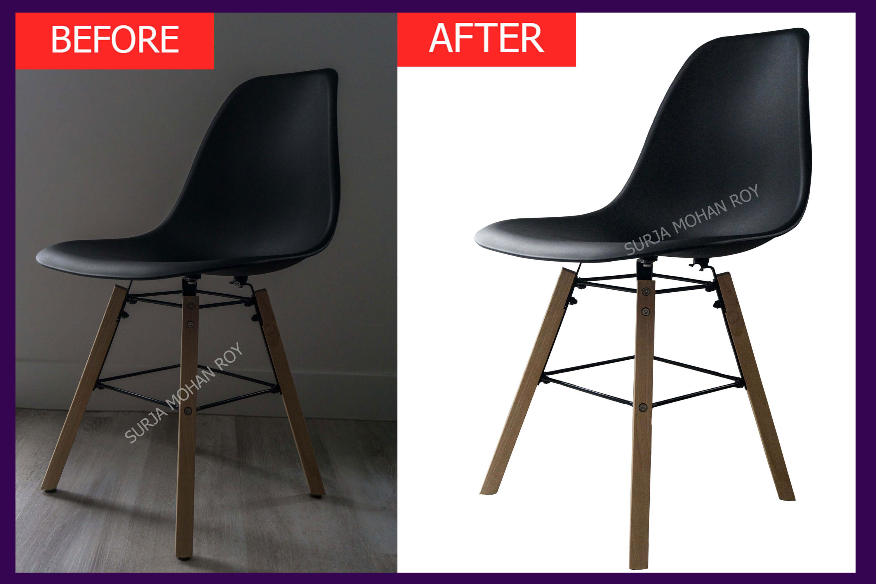 I will do clipping path and background removal