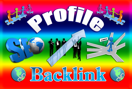 I will manually create 300 profile backlinks with high da and pa 60 to 90
