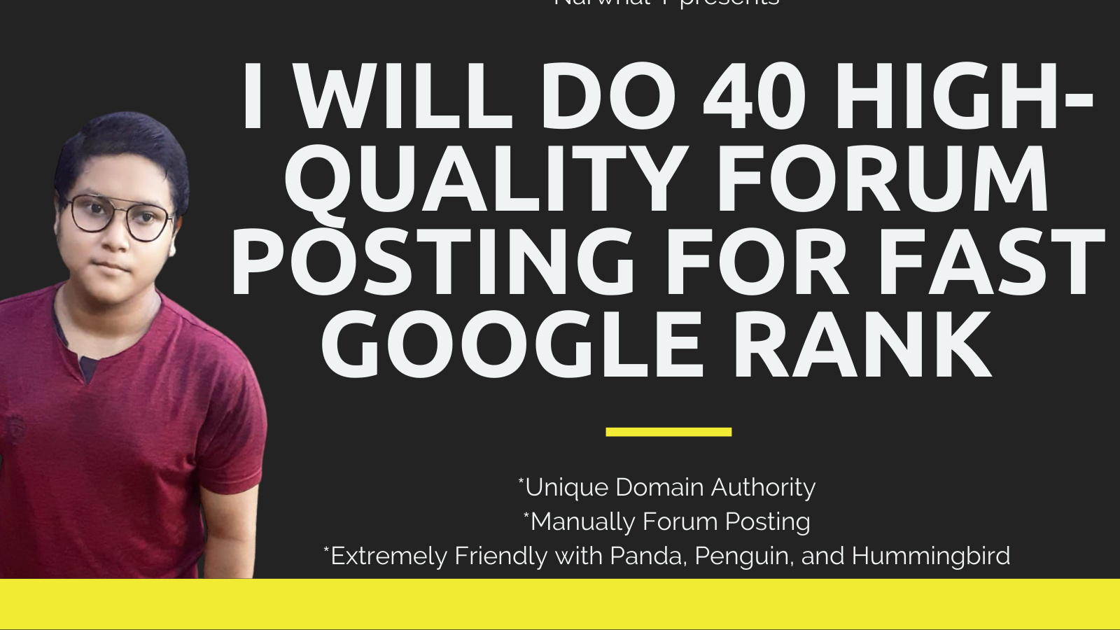 I Will Do 40 High-Quality Forum Posting For Fast Google Rank