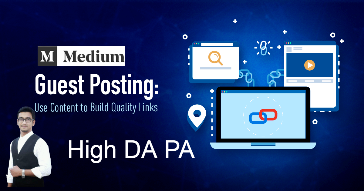 I will write a amazing medium guest post with high DA PA