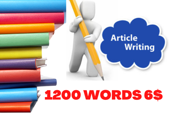 Get High-Quality 1200 Words SEO Optimized Unique Blog Writing,  Article Writing