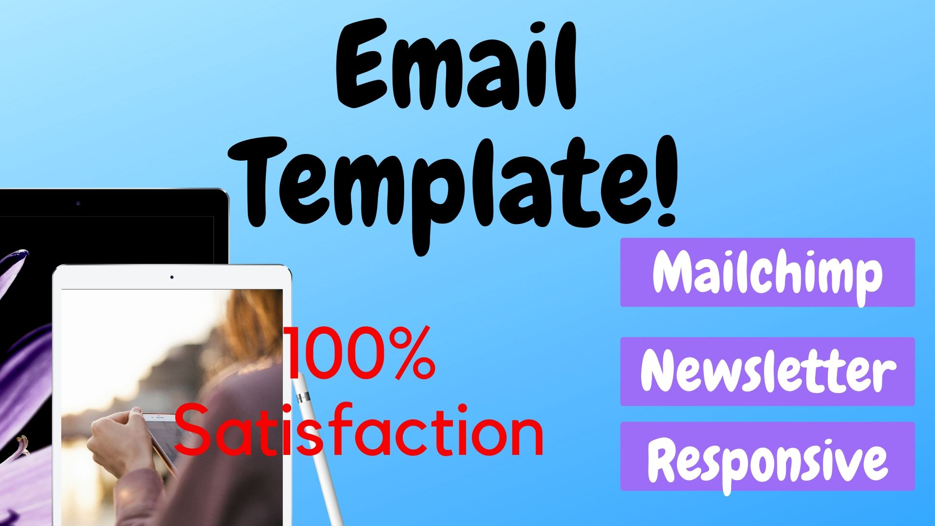 I will design responsive email template newsletter.