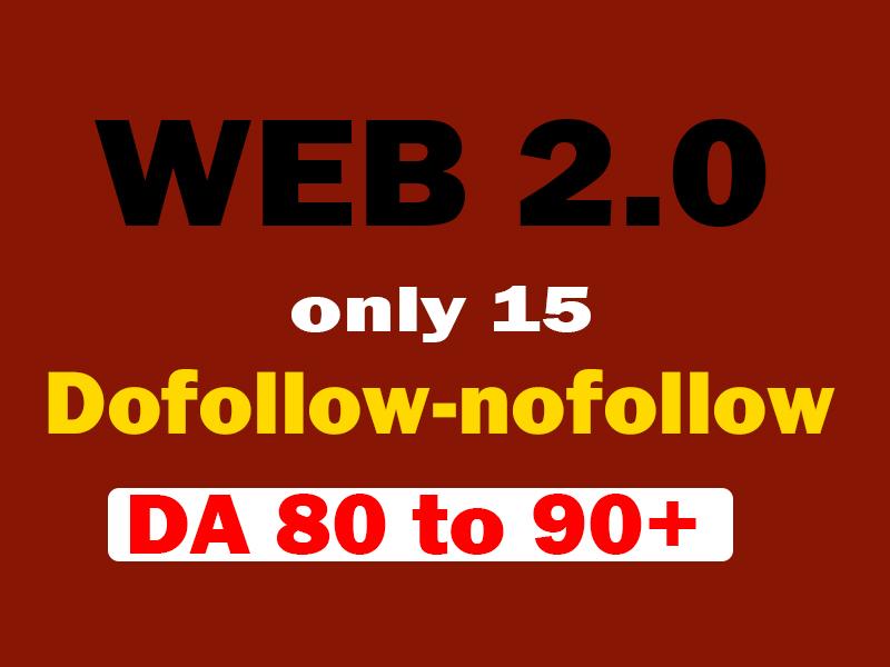 I will make authority web 2 0 backlinks