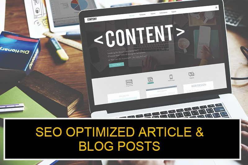 I will write high quality content for your website or blog