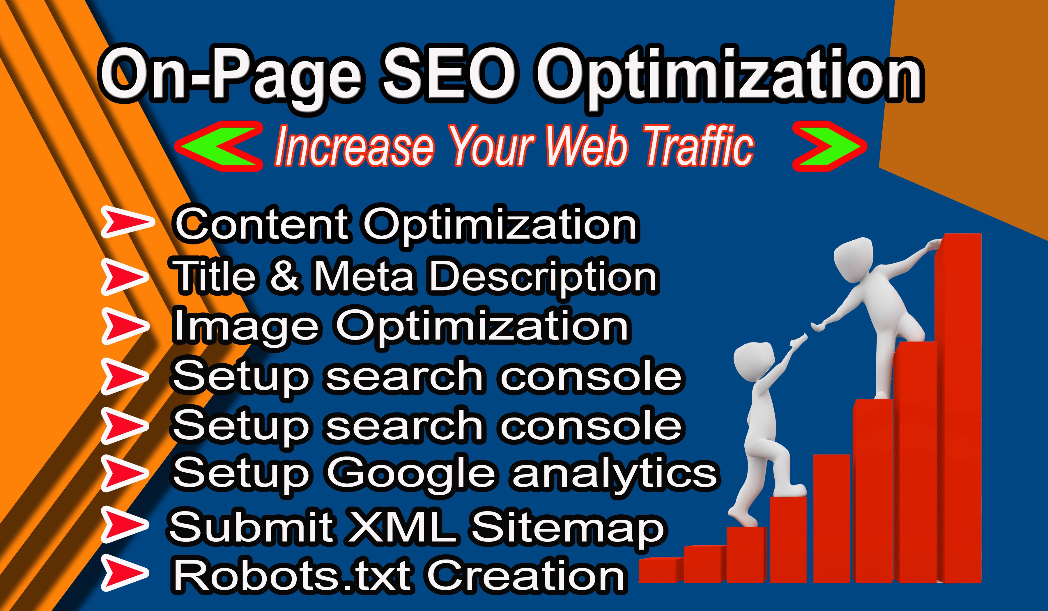 I will Do WordPress Website On Page SEO Optimization By Yoast