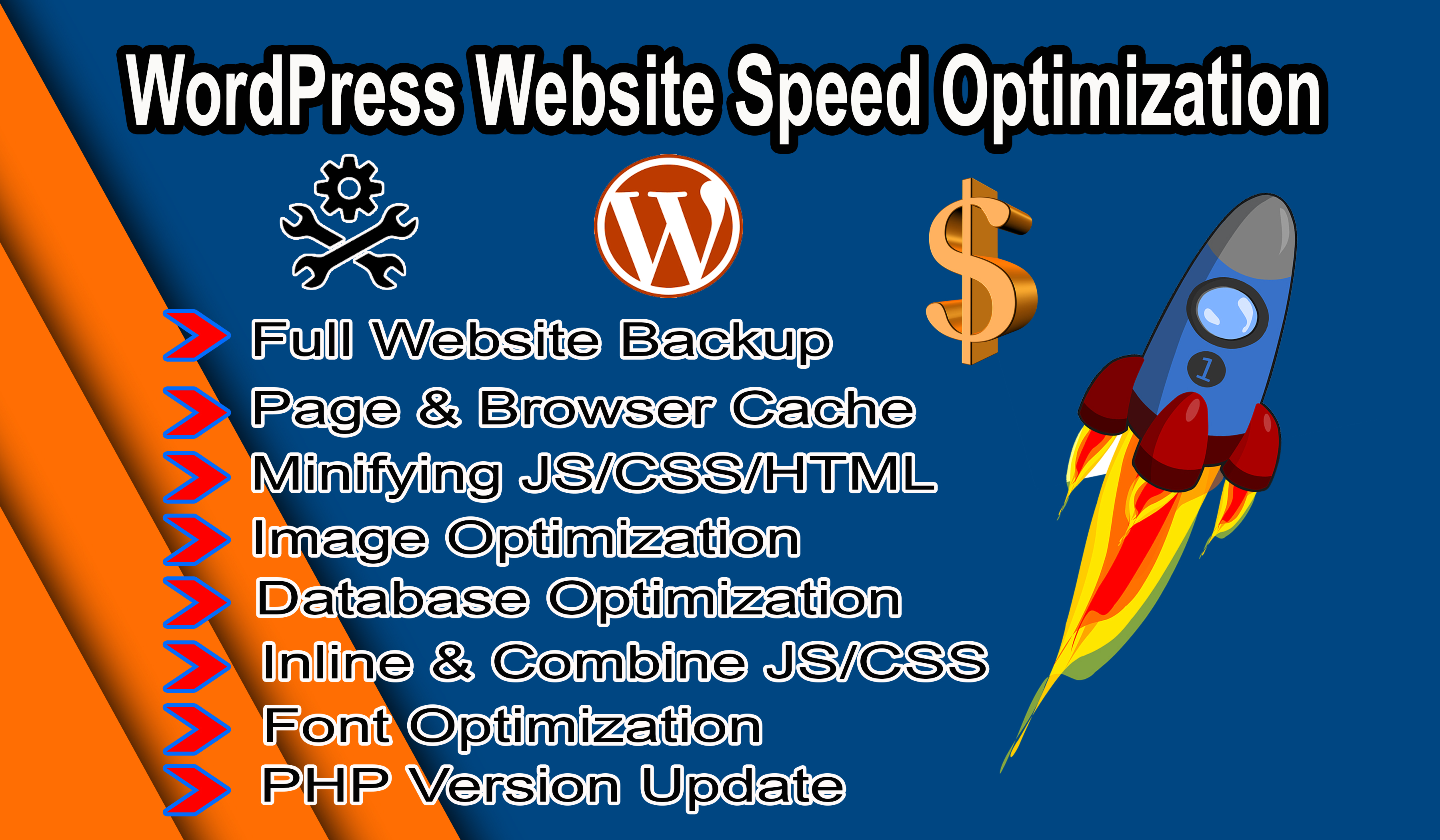 I Will Do WordPress Website Speed Optimization within 24 hours