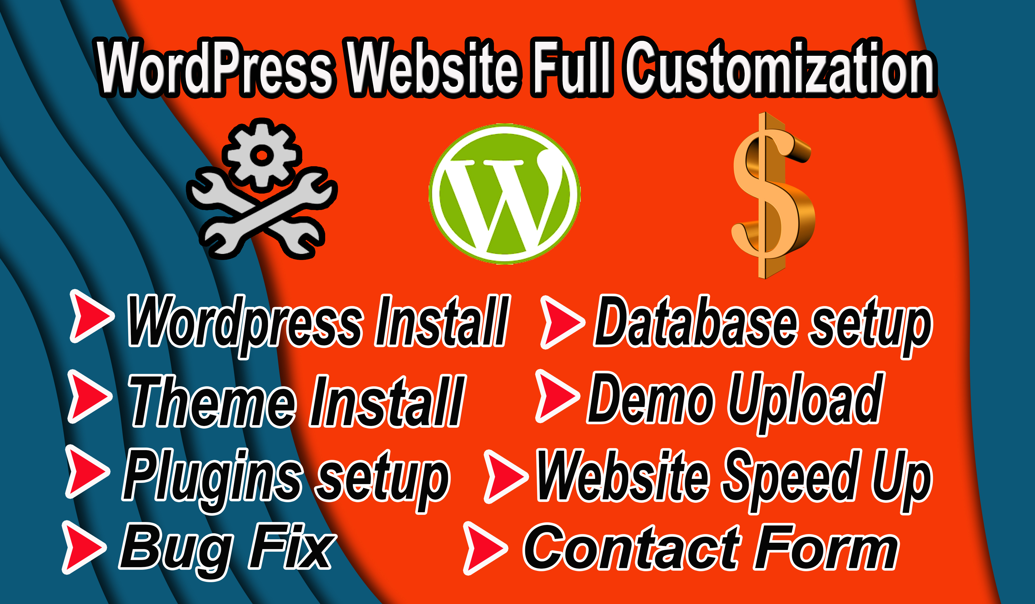 I Will Do WordPress Website Customization And Speed Up