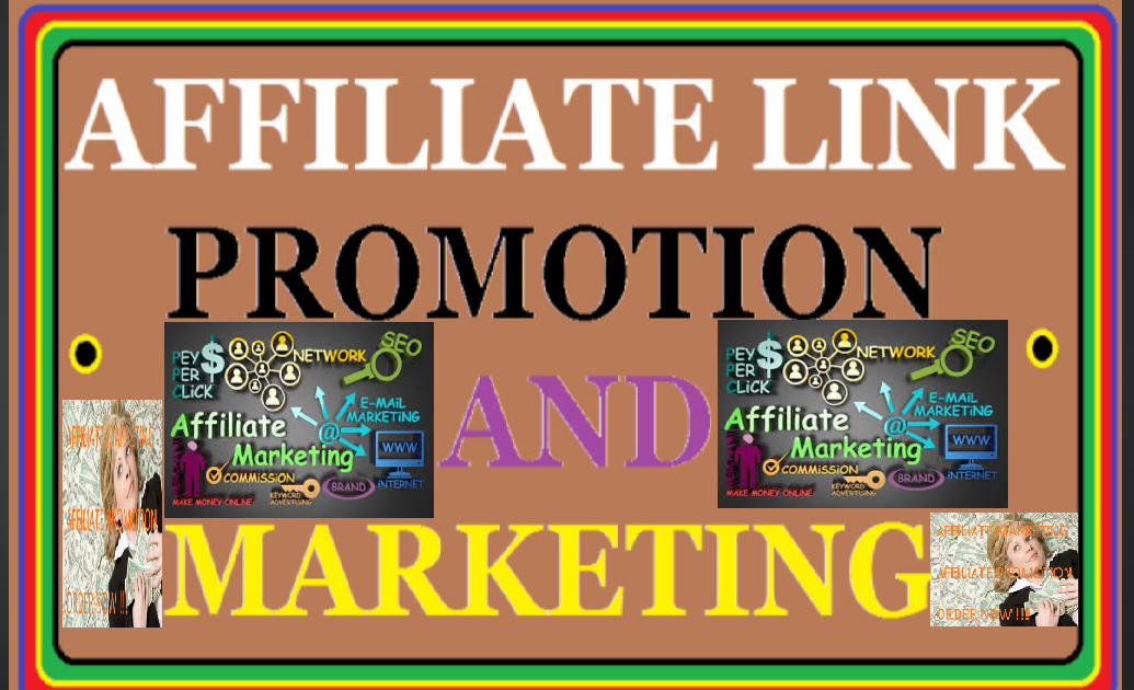 I will promote affiliate link,  clickbank product,  marketing for passive profits