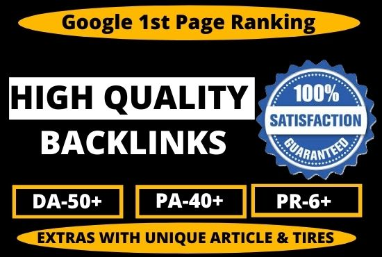300+ Permanent High Quality PBN Backlink DA 50+ PA CF TF From High Authority Unique Websites