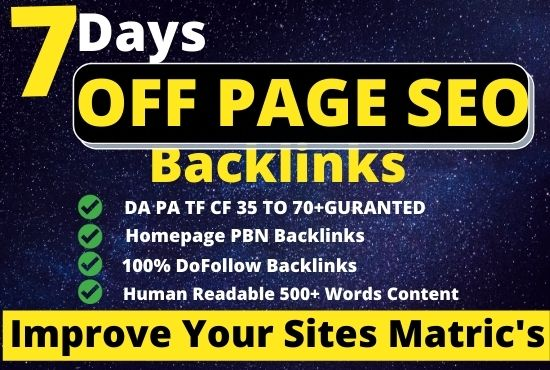 3000 Off page seo Dofollow High Quality Web 2.0 Backlinks Service with High DA PA