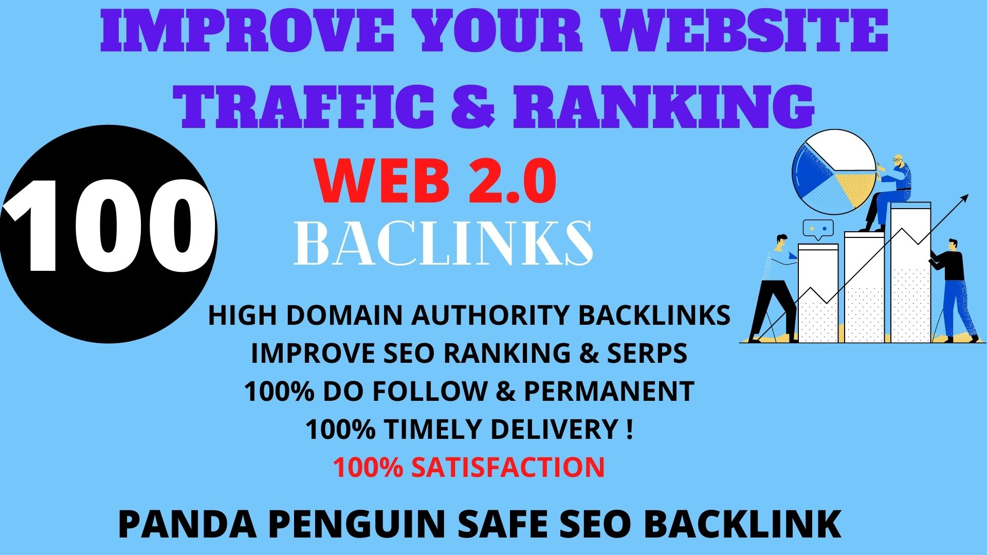 I will Create 100 Backlink with with High DA/PA/TF/CF On your homepage with unique website link