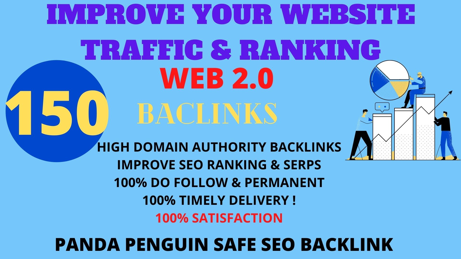 I will Create 150 Back link with with High DA/PA/TF/CF On your homepage with unique website link