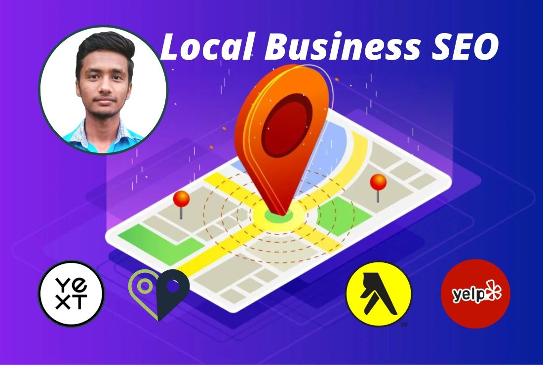 I will do google map citations and business listing for local seo