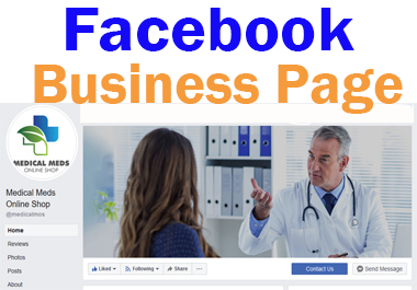 I will create professional facebook business page for your business