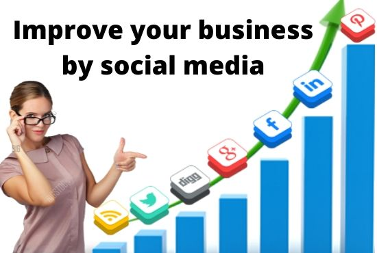 I will be your expert social media manager and improve your business