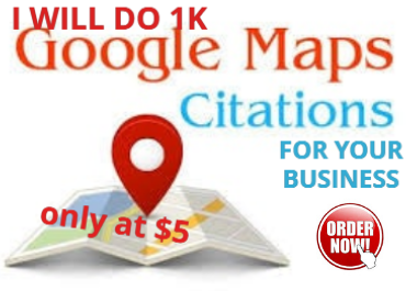 I will create SEO local citations & driving directions for your business