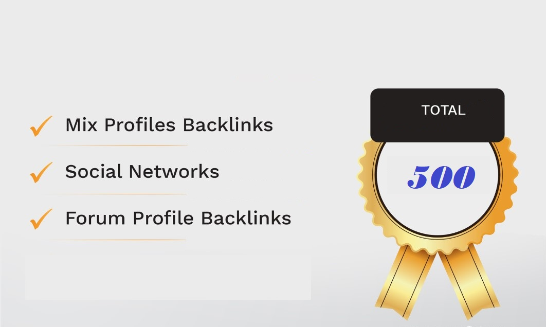 500 social ,forum, blog, wiki and ping mix backlinks