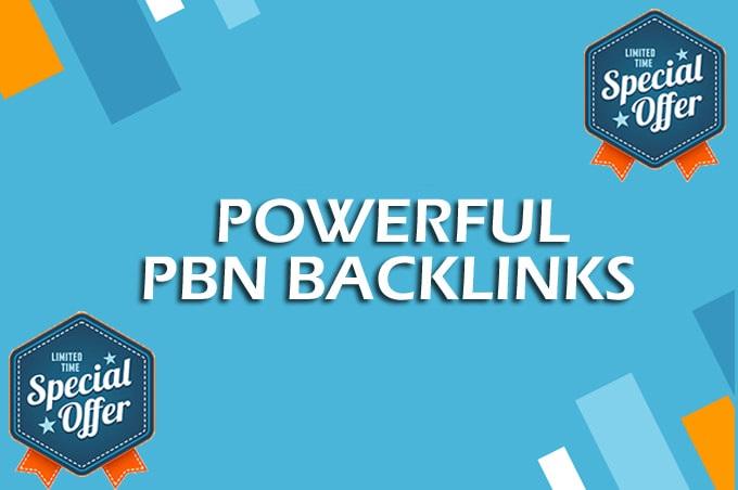 10 Manual HIGH TF CF DA PA 30+ Dofollow PBN Backlinks