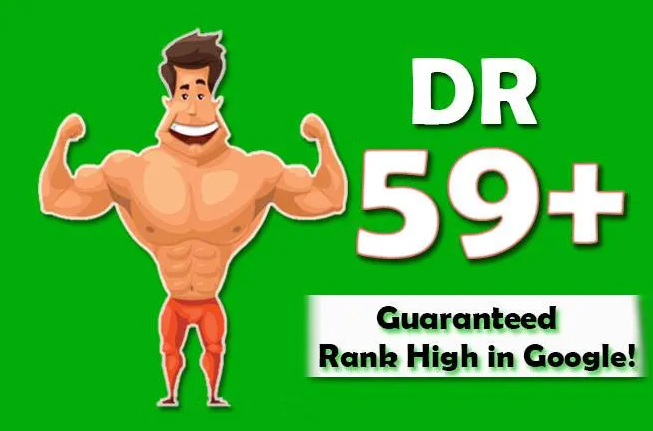 I will increase your domain rating DR 40+ for website ranking