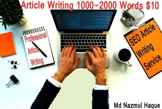 1X500 Words article and Website Content or Blogs writing In Any Topic only