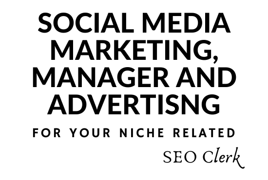 I Can Do Your Social Media Marketing,  manager And Advertising