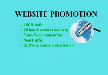 I will promote your website on world wide social media user