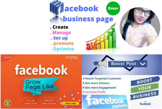 I will setup,  optimization and design your Facebook Business Page