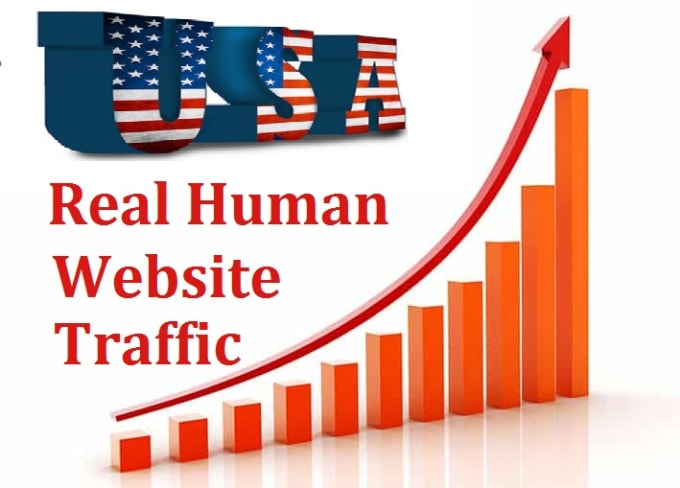 Deliver 100000+ Real human Unique USA targeted traffic