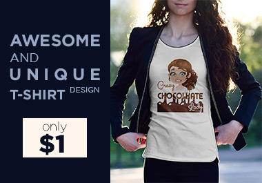 I will make awesome and unique custom graphic t-shirt design