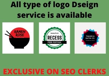 I Will Create All Type Of Logo