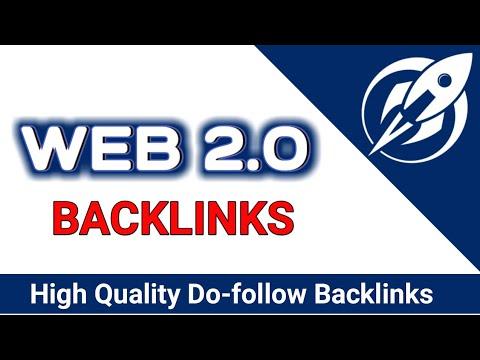 I will manually create 30 HQ super web 2.0 backlinks