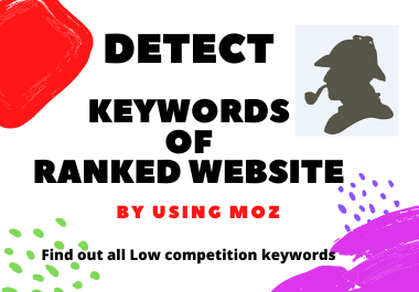 Keywords Search Operation - Detect/find out all low competition Keywords of ranked website