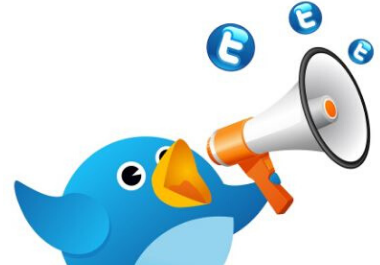 Twitter Super Promotion - Publishing 25 Tweets with 25 Top Trending Hashtags