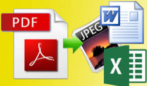 I will do data entry from PDF file to excel,  word