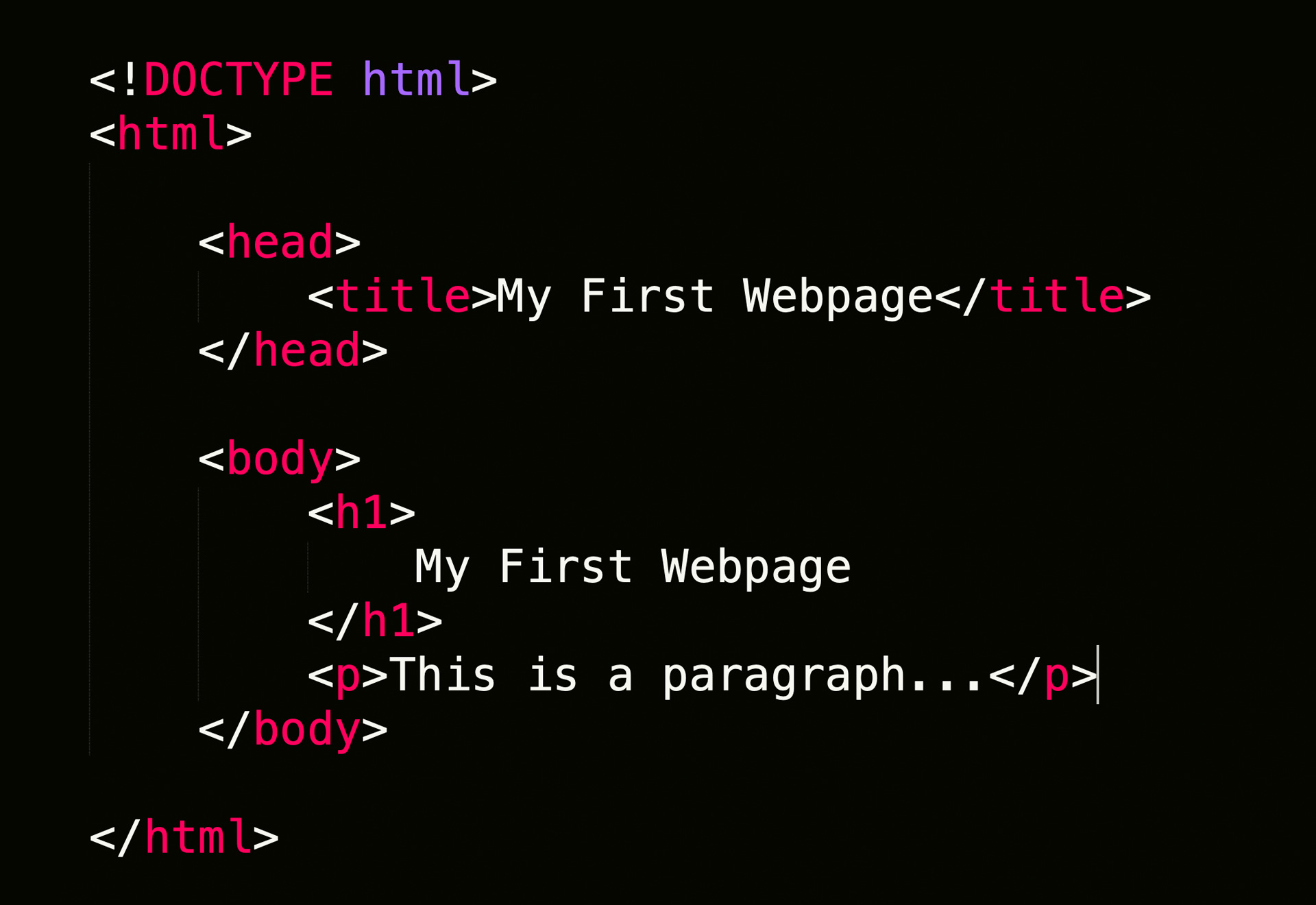 Create a web pages inHTML and CSS